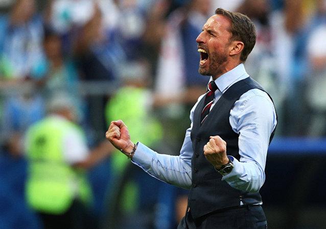 Gareth Southgate, director técnico de la selección de Inglaterra