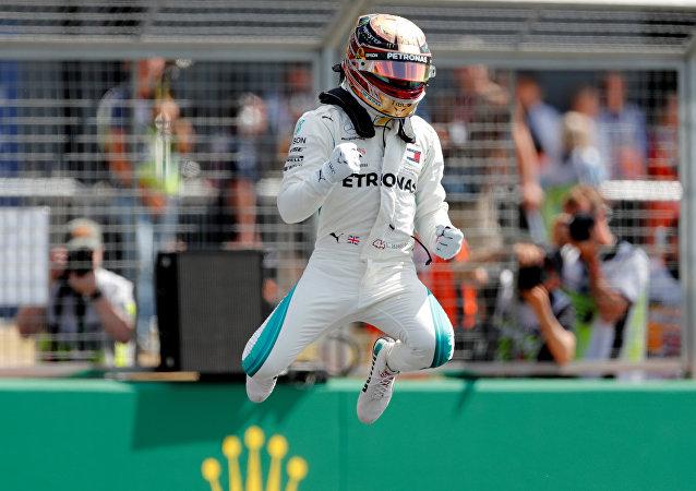 Lewis Hamilton, piloto británico de Fórmula 1