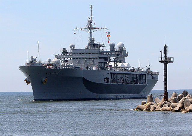 El USS Mount Whitney