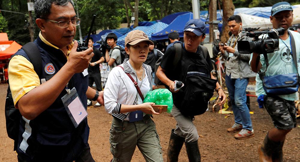 El rescate de niños de la cueva en Tailandia