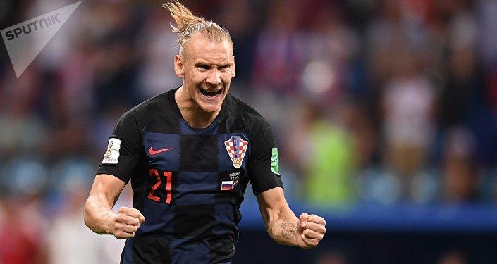 El futbolista croata Domagoi Vida