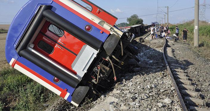 Accidente ferroviario en noroeste de Turquía