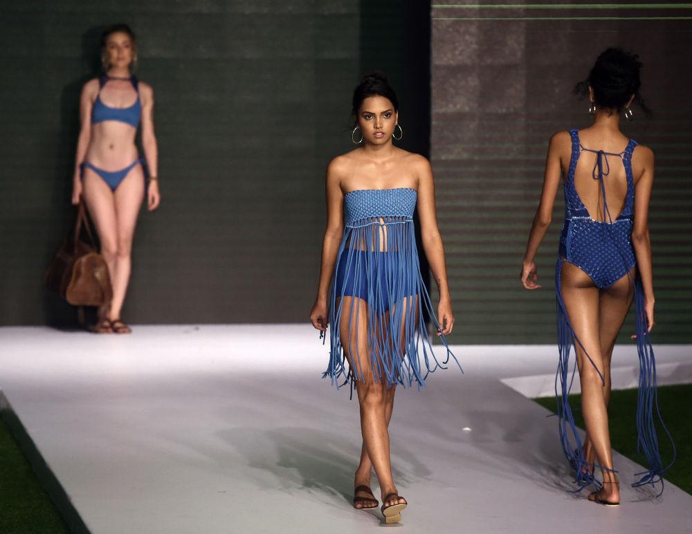 Asia semidesnuda: los modelos más deslumbrantes de la Swim Week Colombo