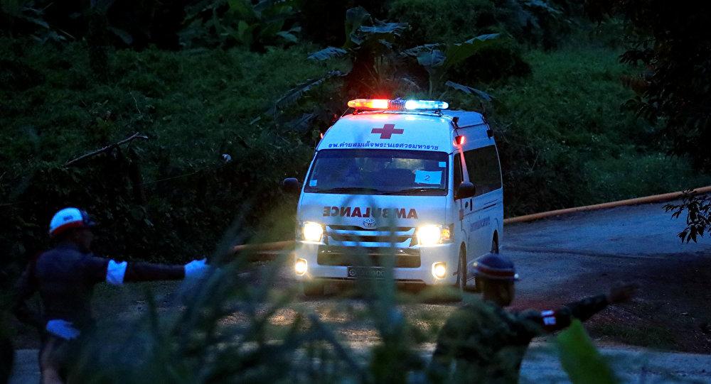 Ambulancia en Tailandia