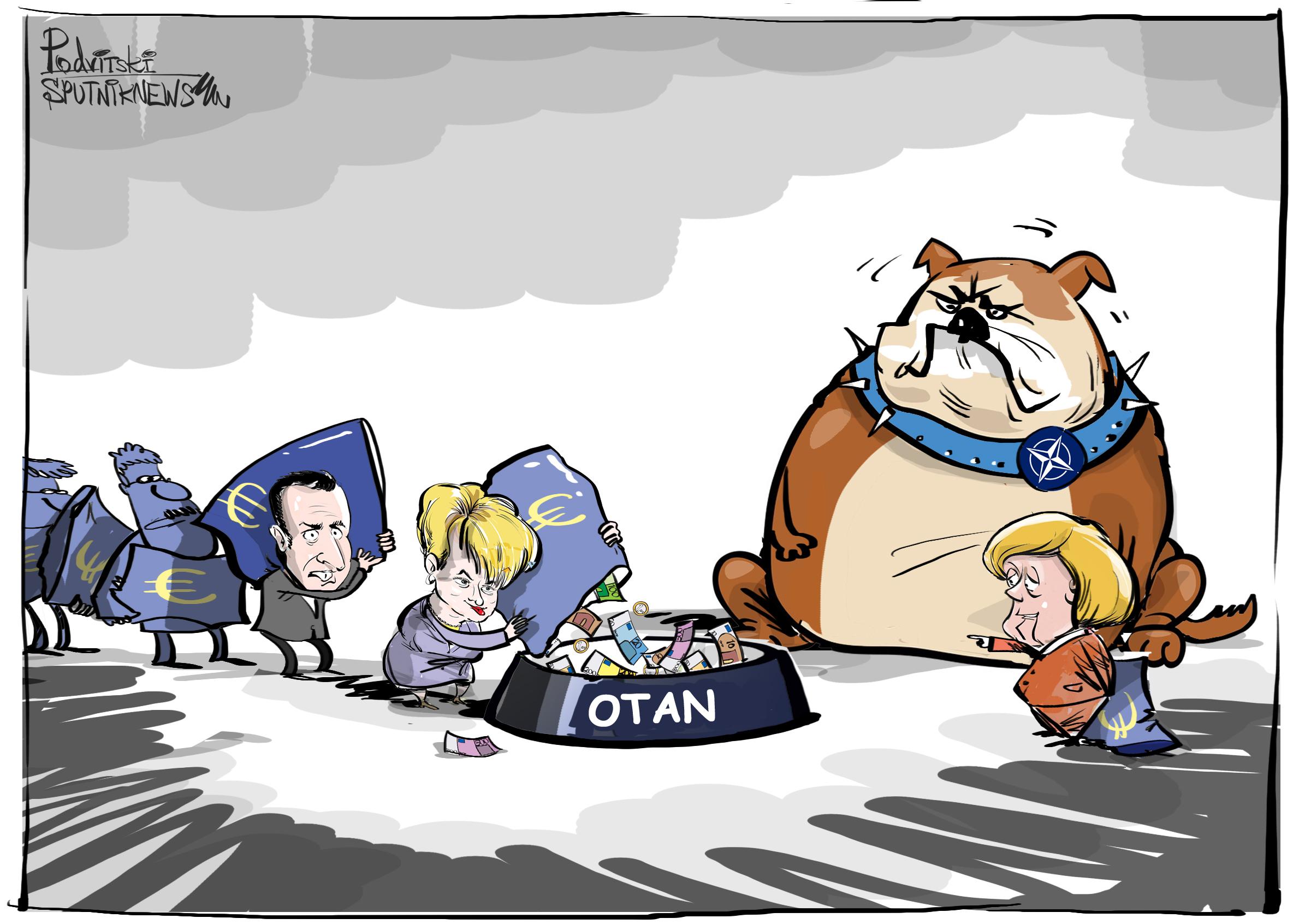 Merkel llama a dar de comer al 'perro de presa'