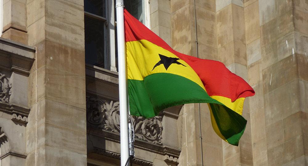 Bandera de Ghana