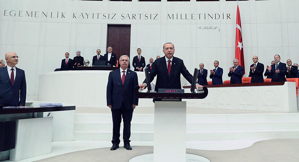 Recep Tayyip Erdogan juramenta como presidente de Turquía