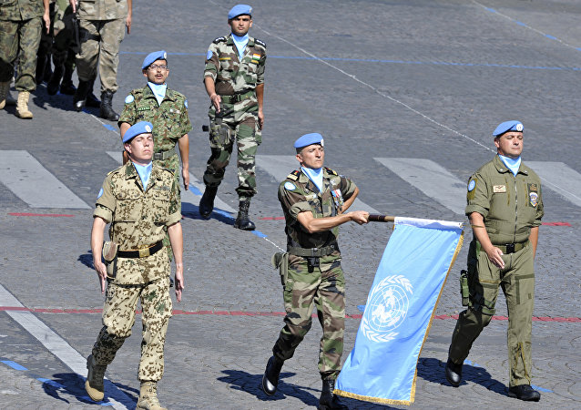 Soldados de paz de la ONU