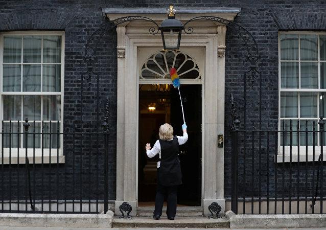 Downing Street en Londres