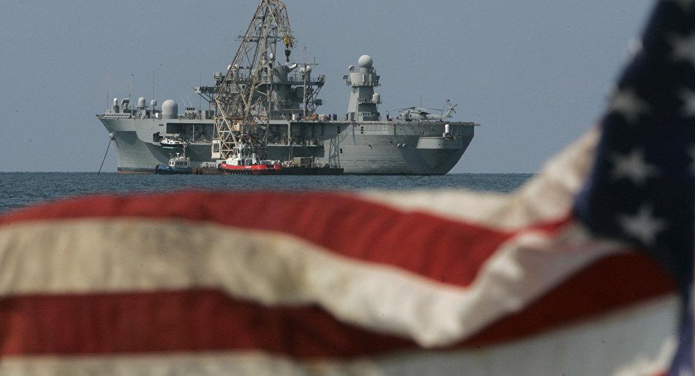 Un buque de EEUU (archivo)