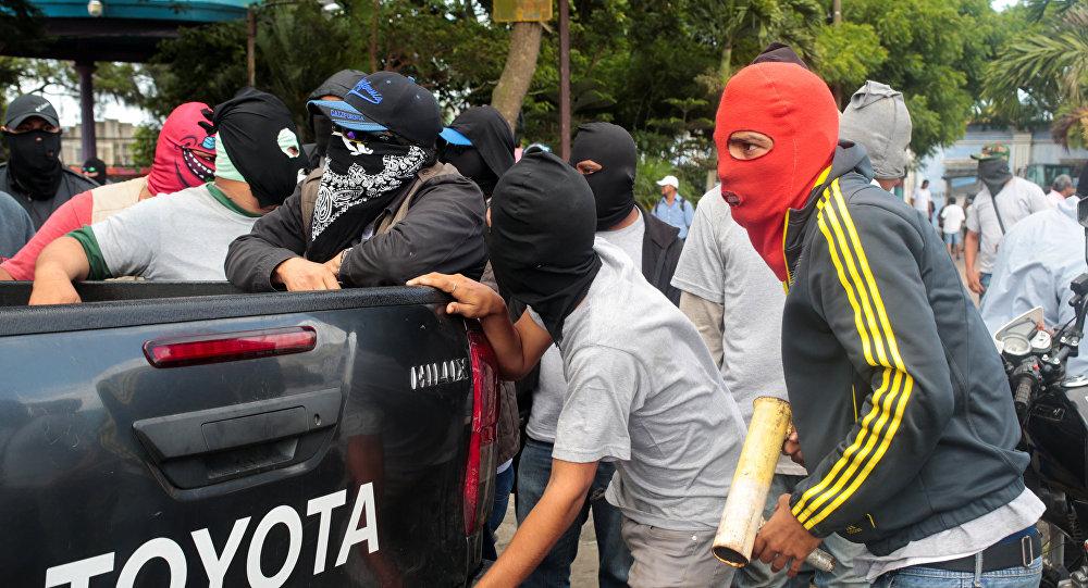 Violencia en Diriamba, Nicaragua