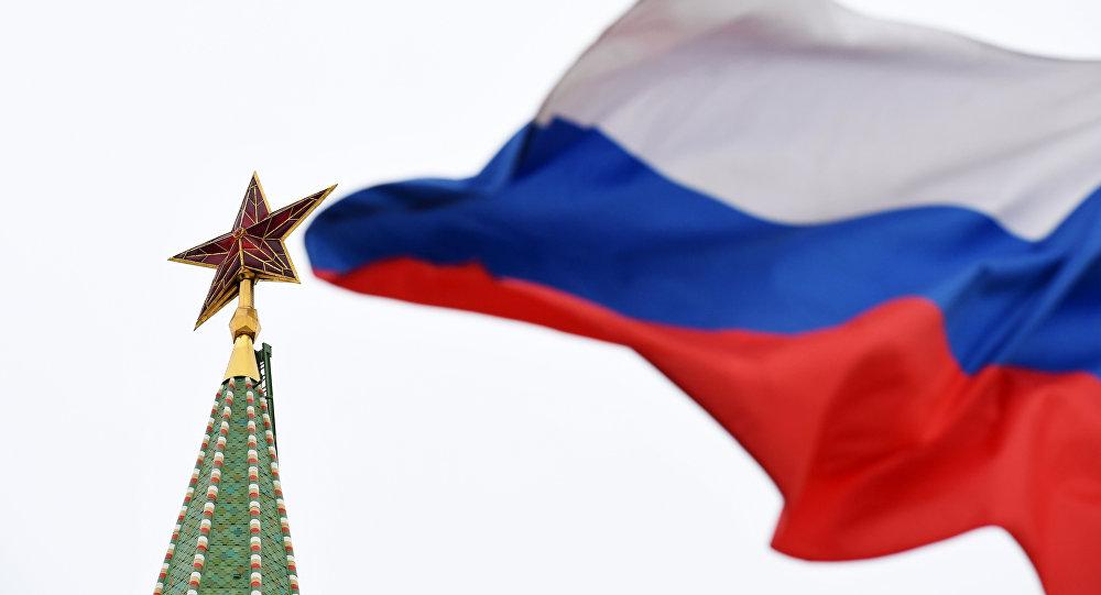 Una estrella del Kremlin de Moscú