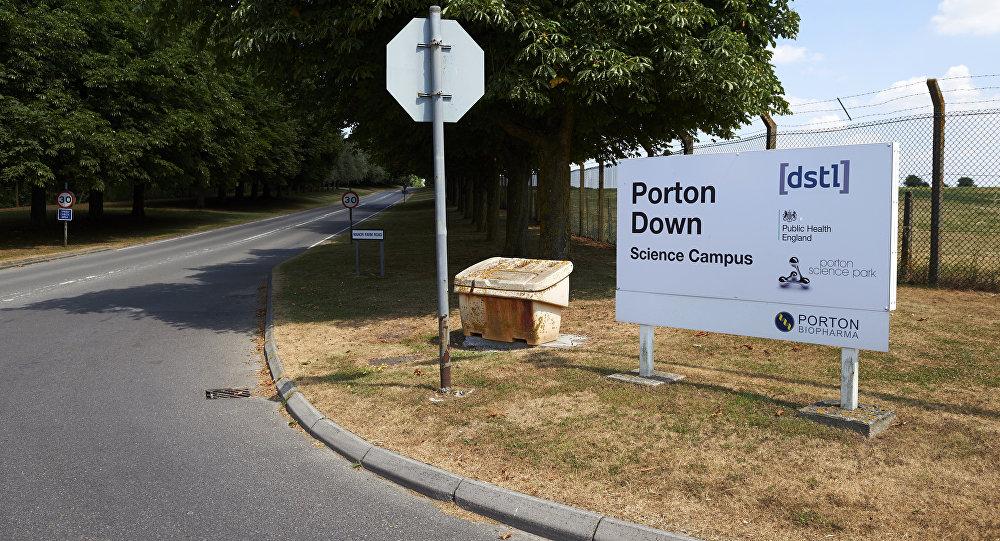 El laboratorio de Porton Down, Reino Unido