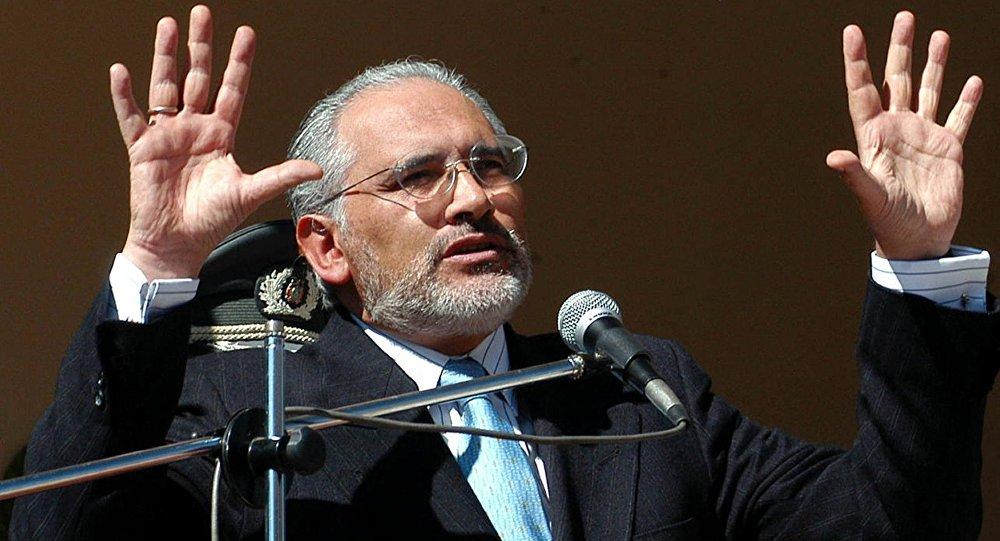 Carlos Mesa, expresidente de Bolivia (archivo)