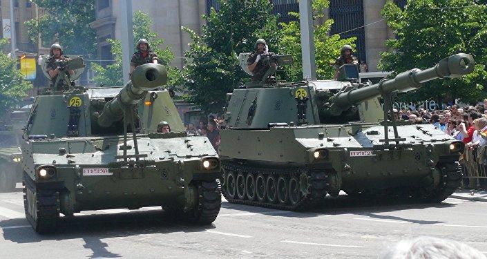 Desfile de las Fuerzas Armadas de España (imagen referencial)