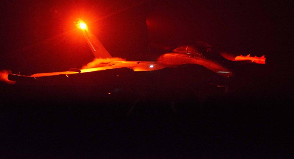 Un avión militar (imagen referencial)