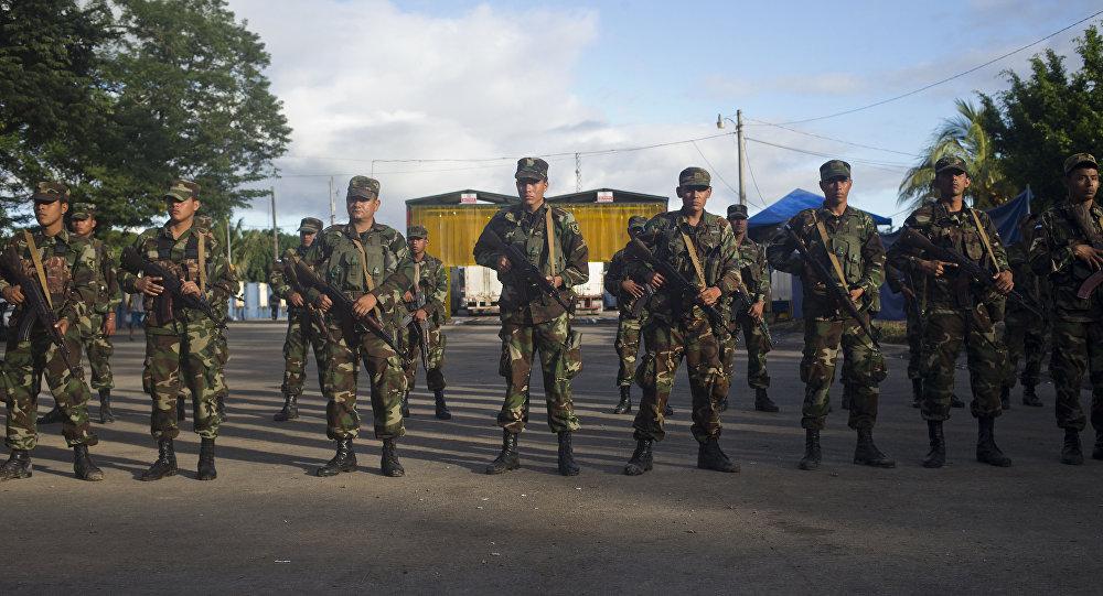 El Ejército de Nicaragua aseguró no intervenir en las protestas