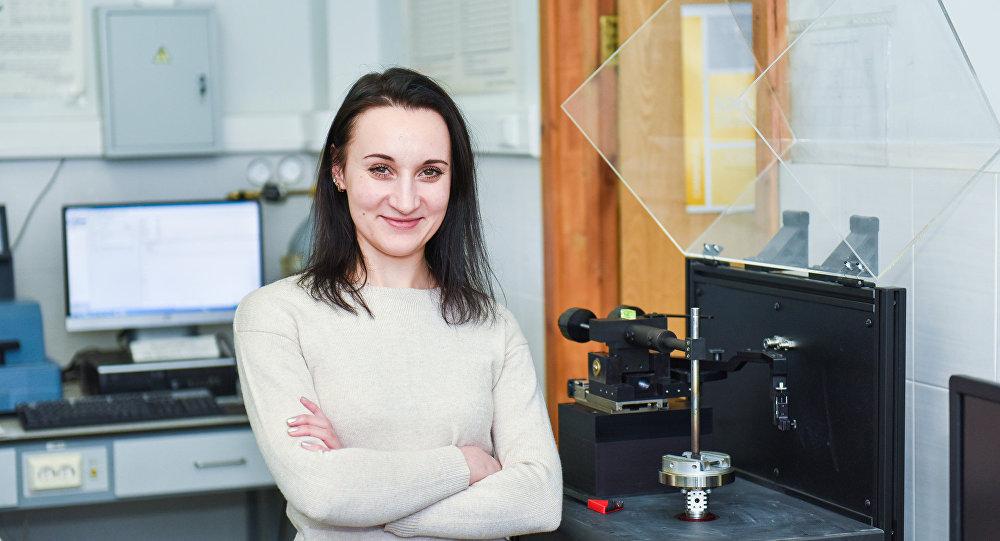 Anna Pozniak, profesora de la Universidad Nacional de Ciencia y Tecnología de Rusia (NUST MISIS)