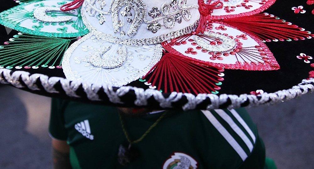 Un hincha mexicano en el Mundial de Rusia (archivo)