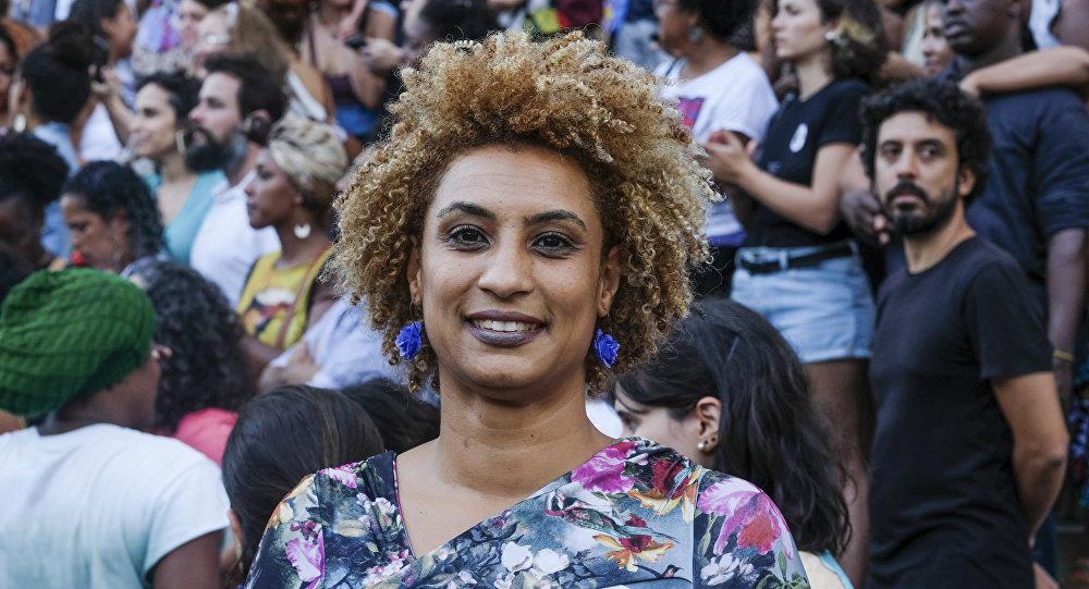 Marielle Franco, la concejal de Río de Janeiro por el partido Socialismo y Libertad asesinada el 14 de marzo de 2018
