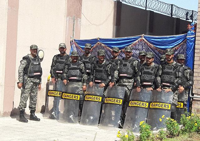 Rangers pakistaníes