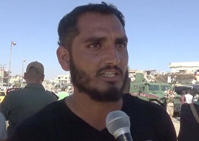 Exterrorista Muhammed Ibrahim al Abbud
