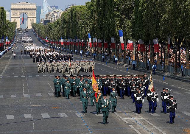 La celebración del Día Nacional de Francia