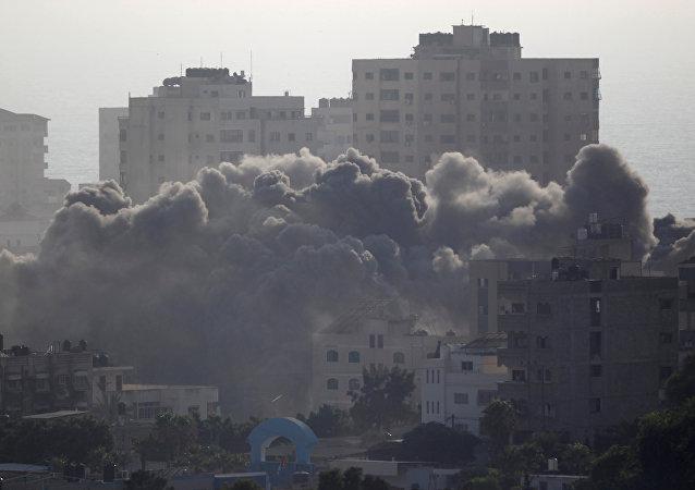 Consecuencias del bombardeo israelí en Gaza