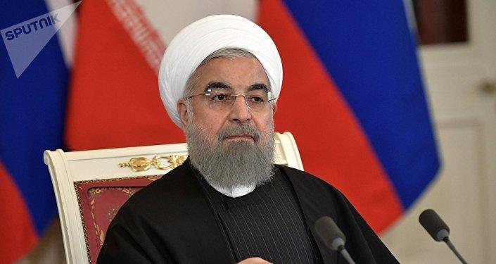 El presidente de la República Islámica de Irán, Hasán Rohaní