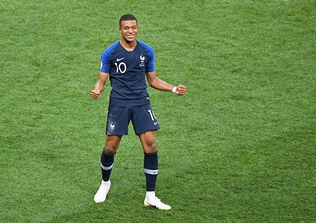 El delantero de la selección de Francia, Kylian Mbappé