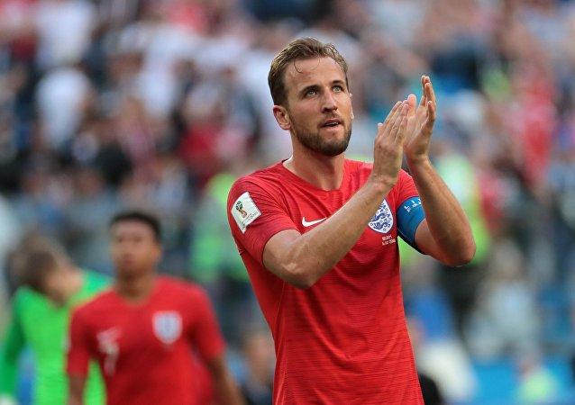 El delantero inglés Harry Kane
