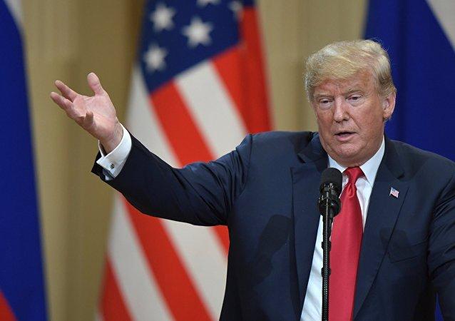 Presidente de Estados Unidos, Donald Trump (archivo)