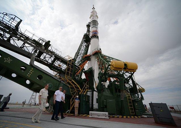 Un cohete ruso (imagen referencial)