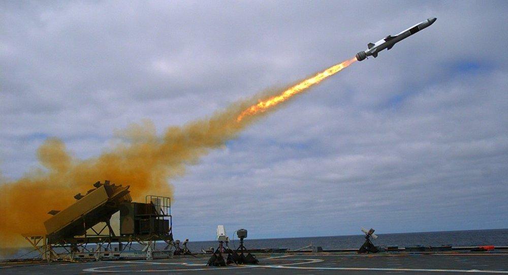 Misil antibuque NSM, imagen archivo