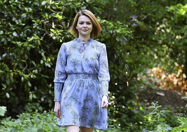 Yulia Skripal, ciudadana rusa que fue envenenada en el Reino Unido (archivo)