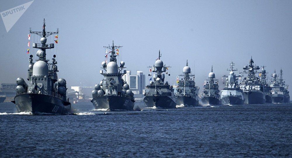 Los buques de la Armada de Rusia (archivo)