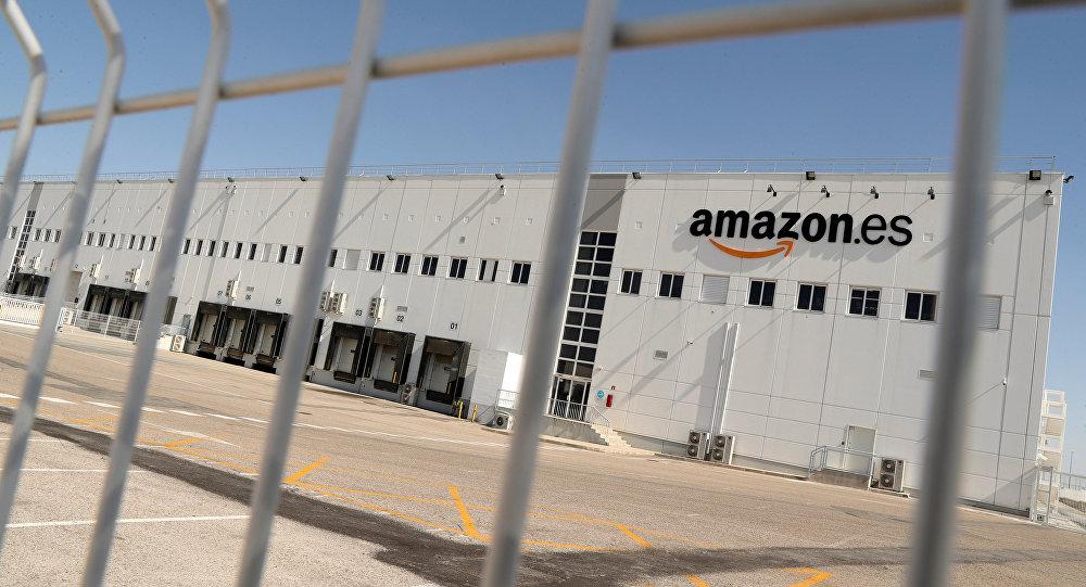 El centro de Amazon en San Fernando de Henares (Madrid)