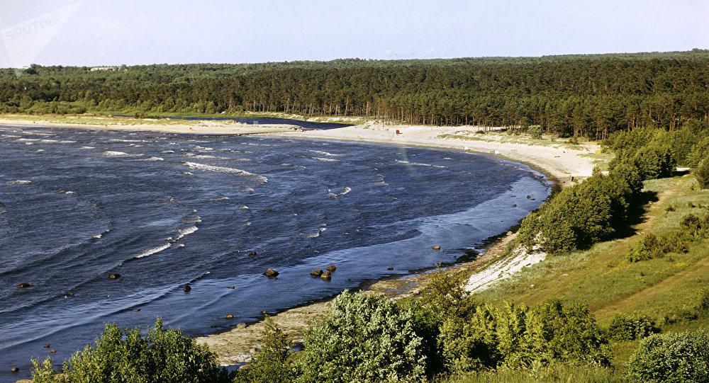 La costa de Estonia