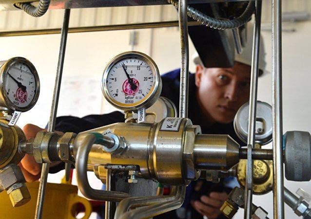 Un gasoducto ruso (imagen referencial)