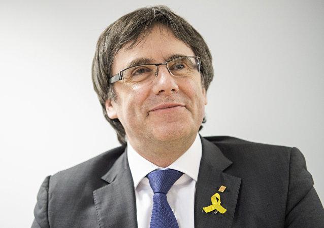 Carles Puigdemont, el expresidente catalán