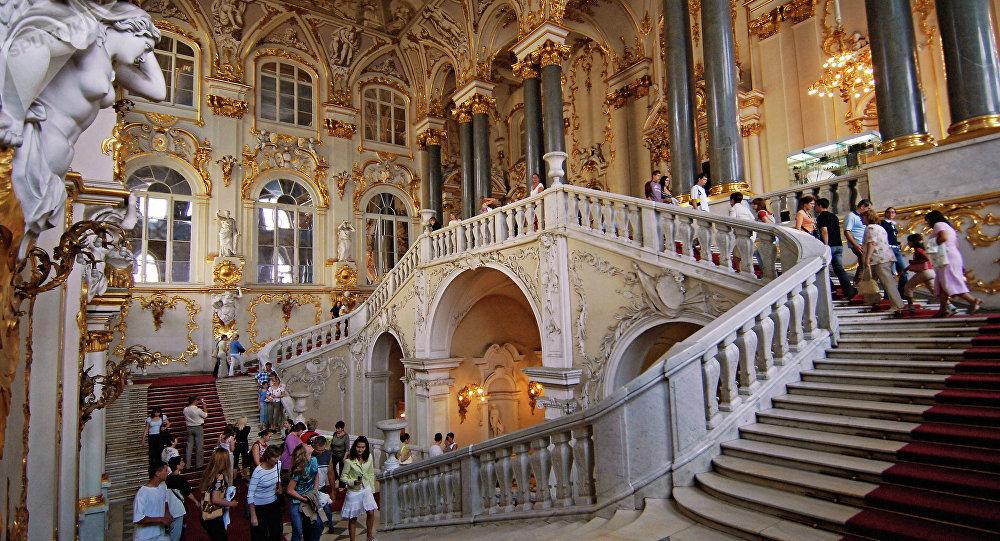 The State Hermitage Museum Jordan Stair