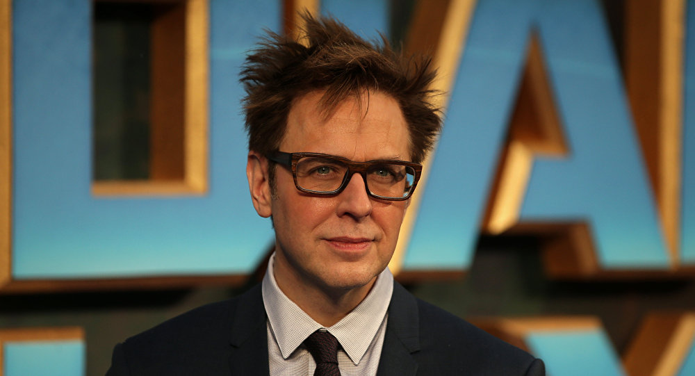 James Gunn, director, escritor y productor de cine estadounidense