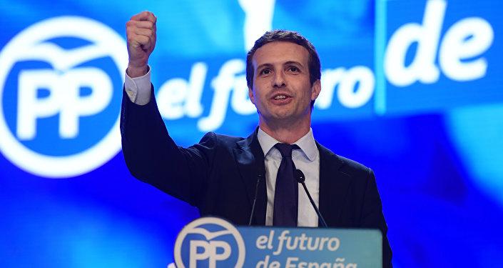 Pablo Casado, nuevo presidente del PP