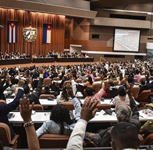 Sesión de la Asamblea Nacional de Cuba en La Habana (imagen referencial)