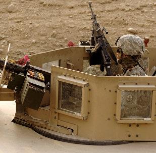 Un militar estadounidense en Afganistán (archivo)
