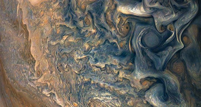 Descubren agua en la Gran Mancha de Júpiter