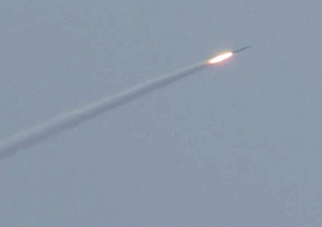 Un submarino nuclear ruso destruye un 'blanco del enemigo'