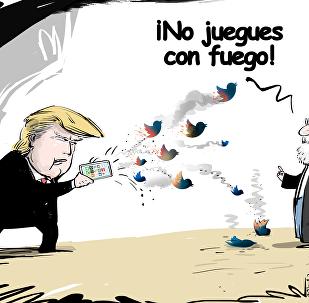 La 'gran cruzada twiteriana' de Donald Trump