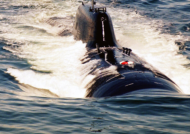 Un submarino nuclear (imagen referencial)