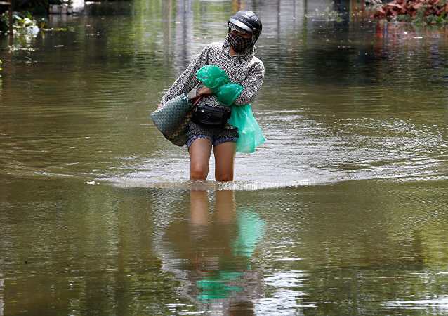 Consecuencias del ciclón Son Tinh en Vietnam
